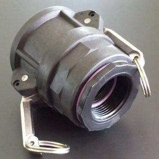 IBC 2-Zoll CAMLOCK Auslauf Adapter mit 1-1/4-Zoll Innengewinde #C1202-REGEN-USER