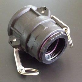 IBC 2'' CAMLOCK Adapter mit 1-1/2'' IG