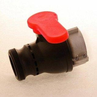 IBC Container Wassertank CAMLOCK Auslauf mit 2-Zoll Abfüll- Kugelhahn mit 2-Zoll Aussengewinde #CH1305-REGEN-USER