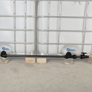 Regenwassertank IBC Container Tankverbindung mit Rohr #C81TVRMA-REGEN-USER