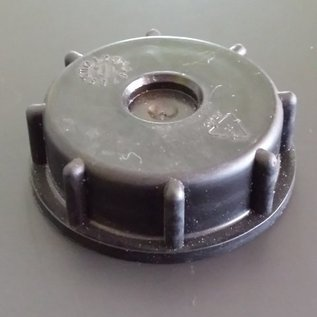 IBC CONTAINER Verschlussdeckel / Kappe S60X6 2-Zoll Grobgewinde GEBRAUCHT #130GEB-REGEN-USER