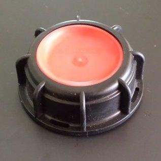 Schütz IBC IBC Container Deckel und Tülle (IBC Schütz) GEBRAUCHT für Auslauf S60X6 2'' Anschluss #40DTGEB-REGEN-USER