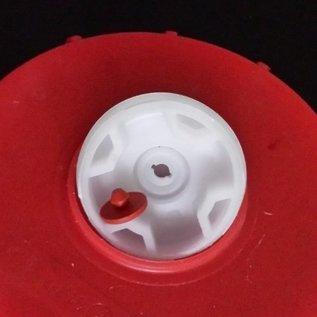 Schütz IBC IBC Container Einlauf-Deckel GEBRAUCHT 225mm mit verschraubter Öffnung 2 Zoll Feingewinde #132LGEB-REGEN-USER