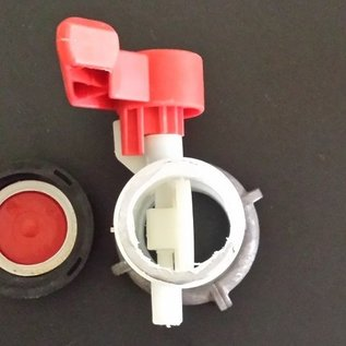 Schütz IBC IBC SCHÜTZ Ersatz- Hahn GEBRAUCHT mit 2-Zoll Grobgewinde für Wassertank #136GEB-REGEN-USER