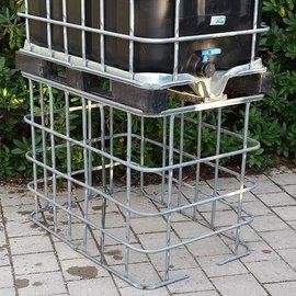 IBC Schütz (640l) Gitter verzinkt gebraucht