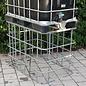 IBC Schütz Gitter schmal (80 cm) gebraucht, höher stellen, höher machen, Aufsatzrahmen #7Schütz-REGEN-USER