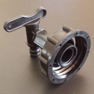 IBC S60X6 Anschluss Auslauf-Hahn GARDENA-kompatibel #H16G-REGEN-USER
