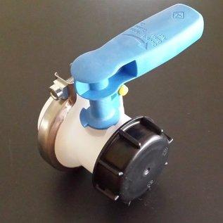 Werit IBC IBC Container WERIT Ersatzhahn S60x6 2-Zoll Grobgwinde für Wassertank #138-REGEN-USER