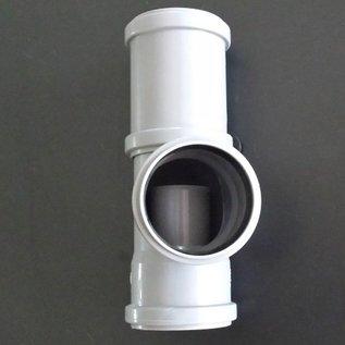 Regensammler für IBC Wassertank mit HT DN 70 / 75 mm Rohr und 75 mm Abgang #RD75-75-REGEN-USER