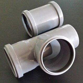 HESS DESIGN Regensammler für IBC Wassertank mit HT DN 70 / 75 mm Rohr und 75 mm Abgang #RD75-75-REGEN-USER