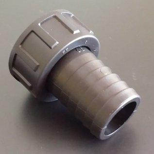Schlauchanschluss für Regenwassertank mit 32mm 1-1/4-Zoll Schlauch mit 1-1/4-Zoll Innengewinde #BU114IG32-REGEN-USER
