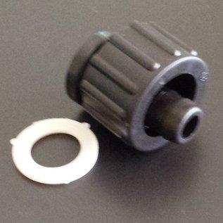 IBC Schlauchanschluss Schlauchtülle für 13 mm 1/2-Zoll Schläuche mit 3/4-Zoll Innengewinde #BU34IG13 IBC-REGEN-USER