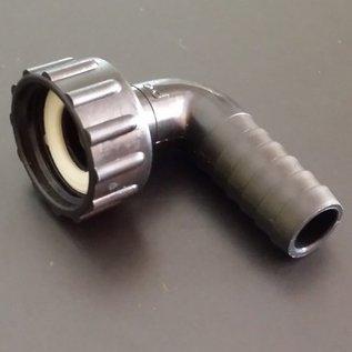Schlauchanschluss 5/8'', 15/16 mm mit 90° Bogen und Überwurfmutter mit 3/4-Zoll Innengewinde #BU34IGB16-REGEN-USER