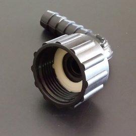 Schlauchtülle 13 mm Winkel 3/4'' Innengewinde