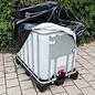 IBC UV-Schutz-Folie Abdeckplane, Abdeckhaube für 600l / 640l Wassertank #8SACK-REGEN-USER