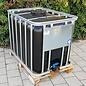 Werit IBC Trinkwasser-Tank NEU 600 Liter - 640 Liter SCHWARZ mit UV-SCHUTZ auf Holzpalette #94GH-W-NEU-REGEN-USER