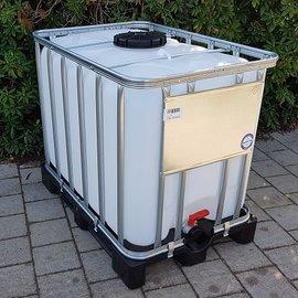 Werit IBC IBC Tank NEU 600l / 640l auf Vollkunststoffp.