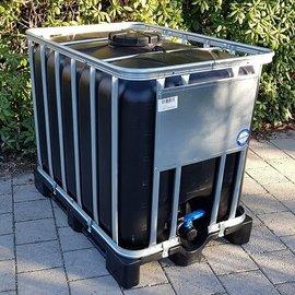 Werit IBC Wassertank (IBC) SCHWARZ 600l / 640l NEU UV
