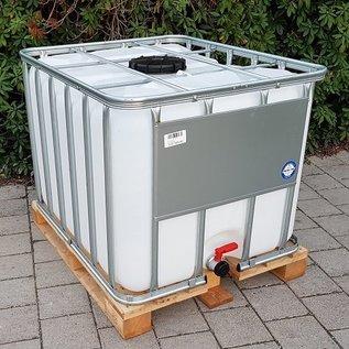Werit IBC NEUER 800 Liter Tank für Food auf einer Holz-Palette #683H-W-NEU-REGEN-USER