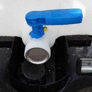 Werit IBC IBC Lebensmittel-Tank NEU 800 Liter, auch Tank für Getränke #683VP-W-NEU-REGEN-USER