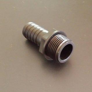 IBC Schlauchanschluss Schlauchtülle für 25mm 1-Zoll Schlauch mit 1-1/4-Zoll Aussengewinde #BU114AG25 IBC-REGEN-USER
