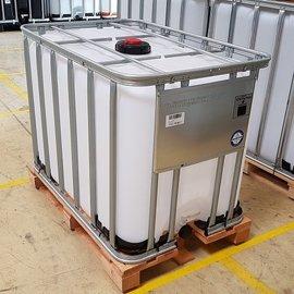 Werit IBC IBC Gefahrgutcontainer 600l-640l auf Holzpalette