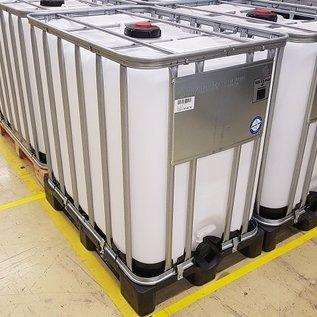 Werit IBC IBC Container 800-820 Liter für Gefahrgut auf Kunststoff-Palette #981VP-UN-W-NEU-REGEN-USER