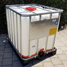 Werit IBC IBC UN-Container EX 1000l auf Kunststoff-Palette
