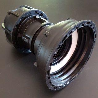 IBC 3-Zoll Adapter für 50 mm Rohre KLEMMVERBINDUNG #Z1400-REGEN-USER