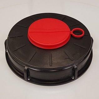 Werit IBC Werit IBC Wassertank Schraub-Deckel NEU 150mm mit verschraubter Öffnung 2 Zoll #131WL-REGEN-USER