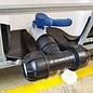 IBC Adapter mit T-Stück und KLEMMVERBINDUNG für 50 mm Rohre #HP1401-REGEN-USER
