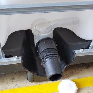 IBC S60X6 Adapter mit 50 mm Tülle für 2-Zoll Schlauch #HP50FIX-REGEN-USER