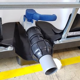 IBC 2'' Adapter für 50 mm HT-Rohr