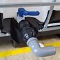 IBC Adapter 2-Zoll mit Klemmverbindung für 50 mm HT-Rohr Bogen #HP-HT1402-REGEN-USER