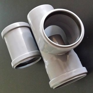 HESS DESIGN Regensammler für Wassertank mit HT DN 110 mm Rohr und 110 mm Abgang #RD100-110-REGEN-USER