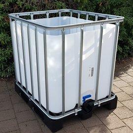 HESS DESIGN IBC Trinkwasser-Becken 800l / 820l NEU auf Kunststoffp.