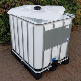 HESS DESIGN IBC Schüttgut Container 800l / 820l NEU auf Kunststoff-P.