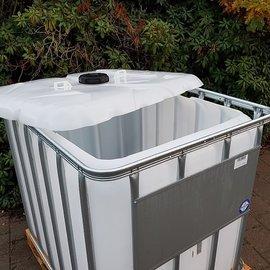 HESS DESIGN IBC Container für Futter 800l / 820l NEU auf Holz-P.