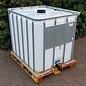 Werit IBC IBC Container für Futter 800 Liter / 820 Liter NEU (lebensmittelecht) auf Holzpalette #683H-OD-W-NEU-REGEN-USER