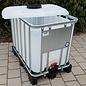 Werit IBC IBC Container für Schüttgut NEU 800 Liter /820 Liter (lebensmittelecht) auf Kunststoff-Palette #981VP-OD-W-NEU-REGEN-USER