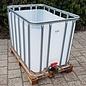 Werit IBC Offener Wassertank NEU  800 Liter /820 Liter für Trinkwasser (lebensmittelecht) auf Holzpalette #981H-O-W-NEU-REGEN-USER