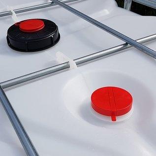 Werit IBC IBC Container für AdBlue 1000 Liter NEU auf Kunststoff-Palette #6VP-AB-W-NEU-REGEN-USER