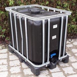 Werit IBC Trinkwassertank SCHWARZ 600l / 640l NEU OHNE ALGEN