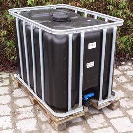 Werit IBC IBC Tank Trinkwasser 600l - 640l NEU SCHWARZ