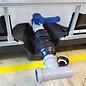 IBC Adapter mit KLEMMVERBINDUNG für HT-Rohr mit T-Stück 50 mm #F-HT1401-REGEN-USER