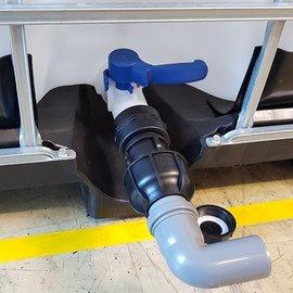 IBC Adapter für HT-Rohr mit Bogen 50 mm