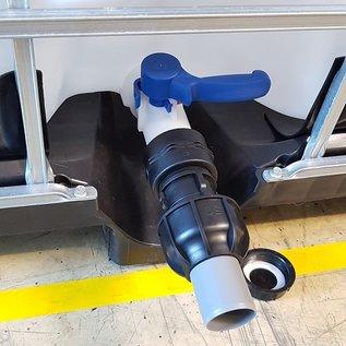 IBC Adapter für 50 mm HT-Rohr mit KLEMMVERBINDUNG #F-HT1400-REGEN-USER
