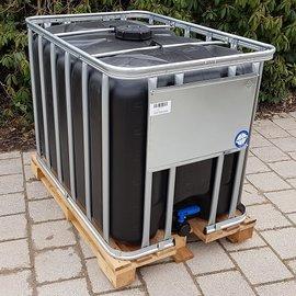 Werit IBC IBC Container SCHWARZ 600l - 640l NEU auf Holz-Palette