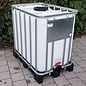 Werit IBC IBC Container NEU 800 Liter / 820 Liter für Trinkwasser, Food auf Voll-Kunststoff-Palette #981VP-W-NEU-REGEN-USER