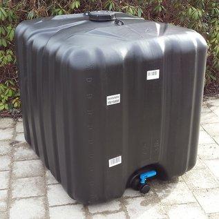 Werit IBC IBC Trinkwasser Behälter SCHWARZ NEU mit UV-SCHUTZ 1000 Liter für IBC Container #64-Werit-REGEN-USER